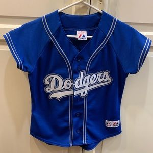 Majestic LA Dodgers Women's Blue Jersey